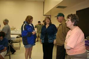 Geraldine, Ed, Diane & Mrs Whitford